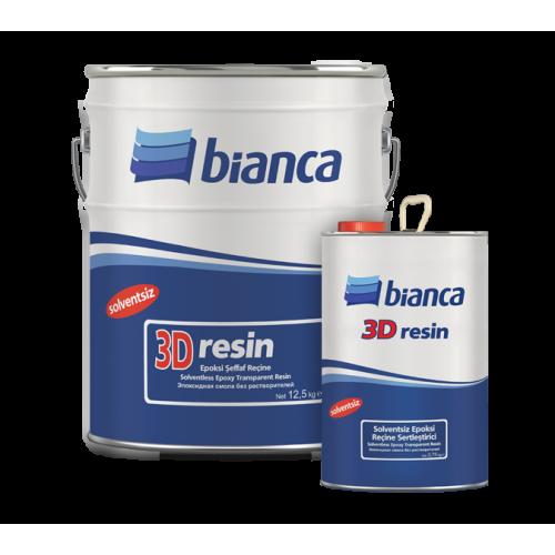 Bianca 3D Resin – Epoksi Şeffaf Reçine 2,5Kg