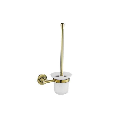Creavit NO12030G Neo Gold Asma Tuvalet Fırçalığı - Altın (Camlı)