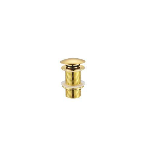 Creavit Lavabo Sifon Başlığı POP-UP Taşmasız Altın(SF030G)