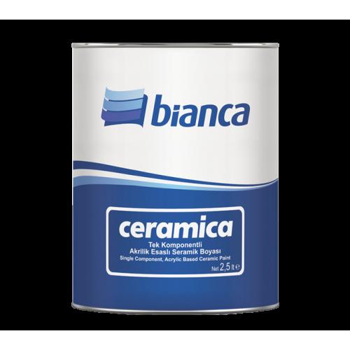 Bianca Ceramica – Seramik Boyası Beyaz 0,75LT