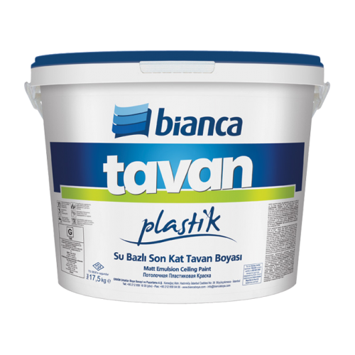 Bianca Beyaz Tavan Boyası 3,5Kg